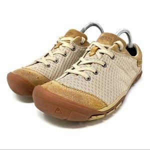Keen Mercer Lace II Women Brown Sneaker Shoes EUC!
